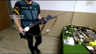 Operación de la Guardia Civil de Huesca.