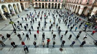 Concentración ganaderos en Huesca
