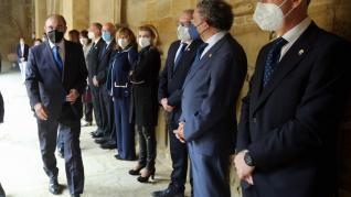Acto oficial por el Día de San Jorge en Huesca.