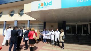 sira repolles huesca consejera sanidad aragon huesca hospital san jorge