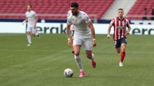 El Huesca se enfrenta al Atlético de Madrid.
