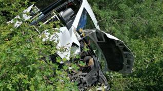 BUS ACCIDENTE SIESTE BOLTAÑA