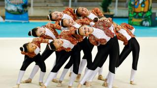 gimnasia ritmica campeonato huesca