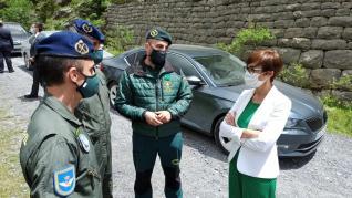 La directora general de la Guardia Civil visita Jaca