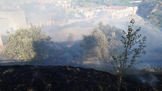 Incendio en Barbastro