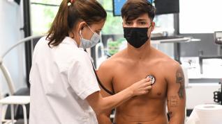 Reconocimiento médico del Huesca B