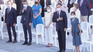 acto de Estado cargado de emoción que ha combinado el homenaje a las víctimas de la covid