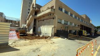 Obras en el Servicio de Urgencias del Hospital San Jorge