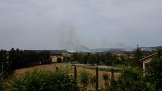 Incendio  Torres del Obispo.