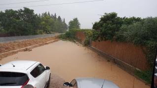 Imágenes de la tormenta caída este miércoles en el Alto Aragón