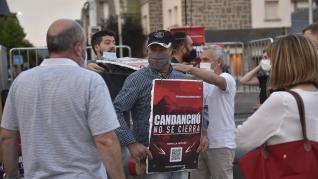 Concentración en Jaca por Candanchú.