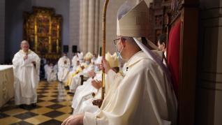 José Antonio Satué es ordenado obispo.