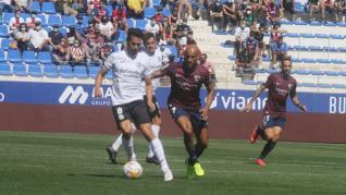 El Huesca y el Fuenlabrada empatan en el Alcoraz.