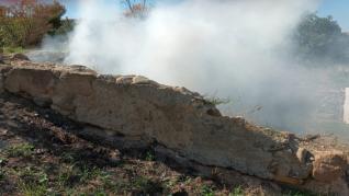 Octavo incendio en la zona de El Terrero en Barbastro