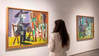 Exposición de Picasso en Zaragoza.