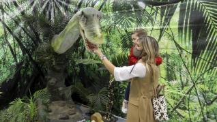 exposicion dinosaurios palacio congresos huesca