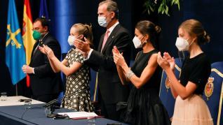 gala de entrega de los premios princesa de asturias 2021