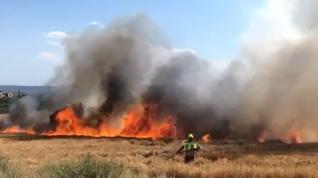 Incendio en Fraga 4
