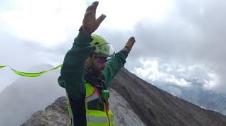 Rescate del montañero holandés hallado muerto en el pico Infiernos