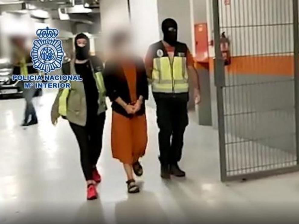 El juez envía a prisión y procesa a la etarra Itxaso Zaldua por el asesinato de Manuel Giménez Abad