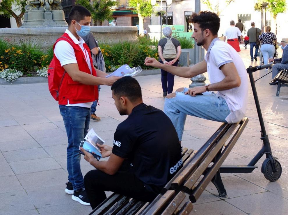 Cruz Roja ayuda a 57.326 personas  de la provincia de Huesca en la pandemia