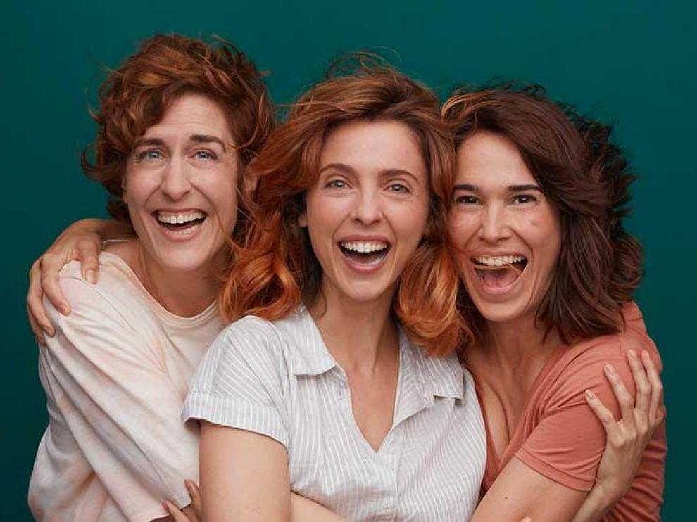 Aixa Villagrán, Leticia Dolera y Celia Freijeiro,protagonistas de 'Vida perfecta'.