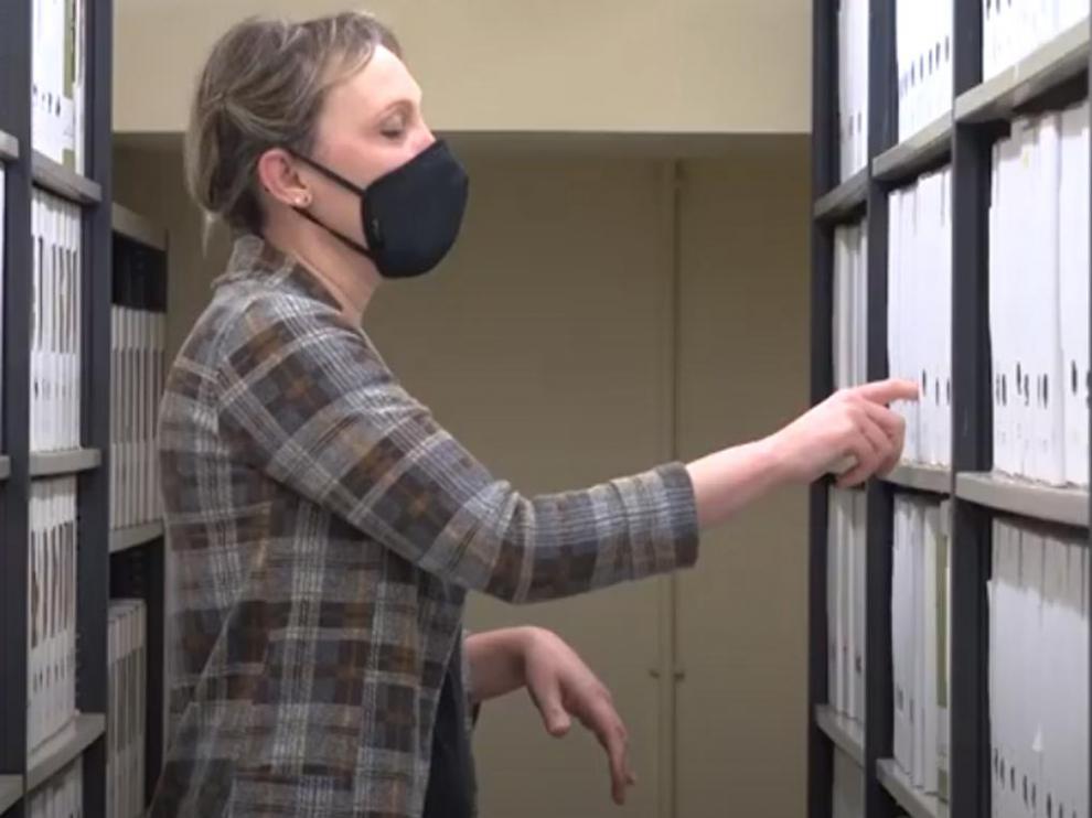 El Archivo Provincial de Huesca ha elaborado el documental 'Mujeres en tiempos de Guerra', de Eugenio Monesma.
