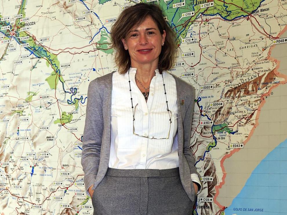 María Dolores Pascual, presidenta de la Confederación Hidrográfica del Ebro.