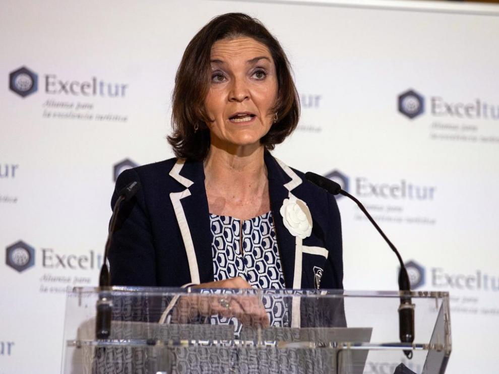 Reyes Maroto, ministra de Industria, Energía y Turismo.