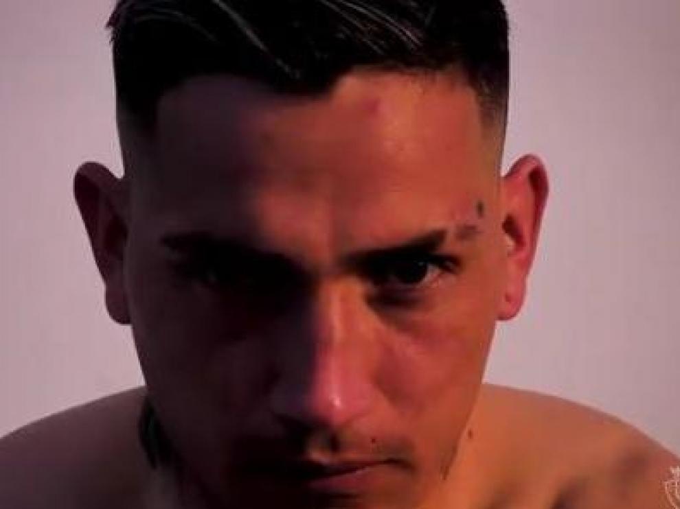Una imagen tomada del vídeo dedicado al regreso del Chimy Ávila