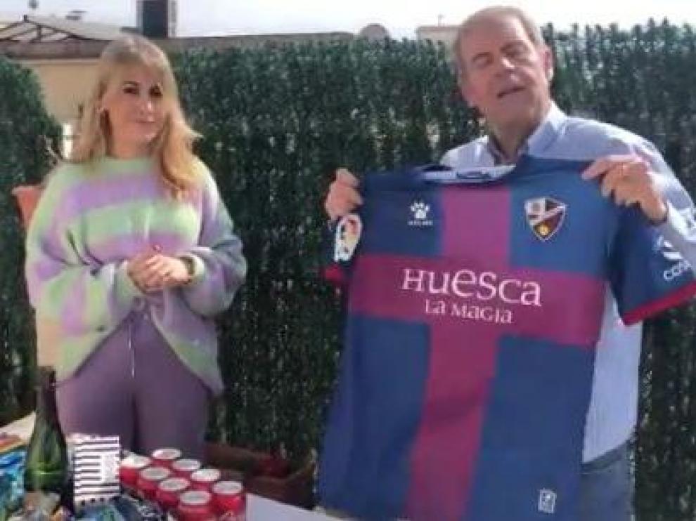 Susana y Tomás Guasch en el vídeo de Movistar +
