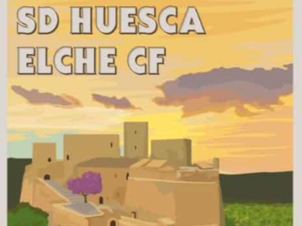 Cartel Huesca-Elche