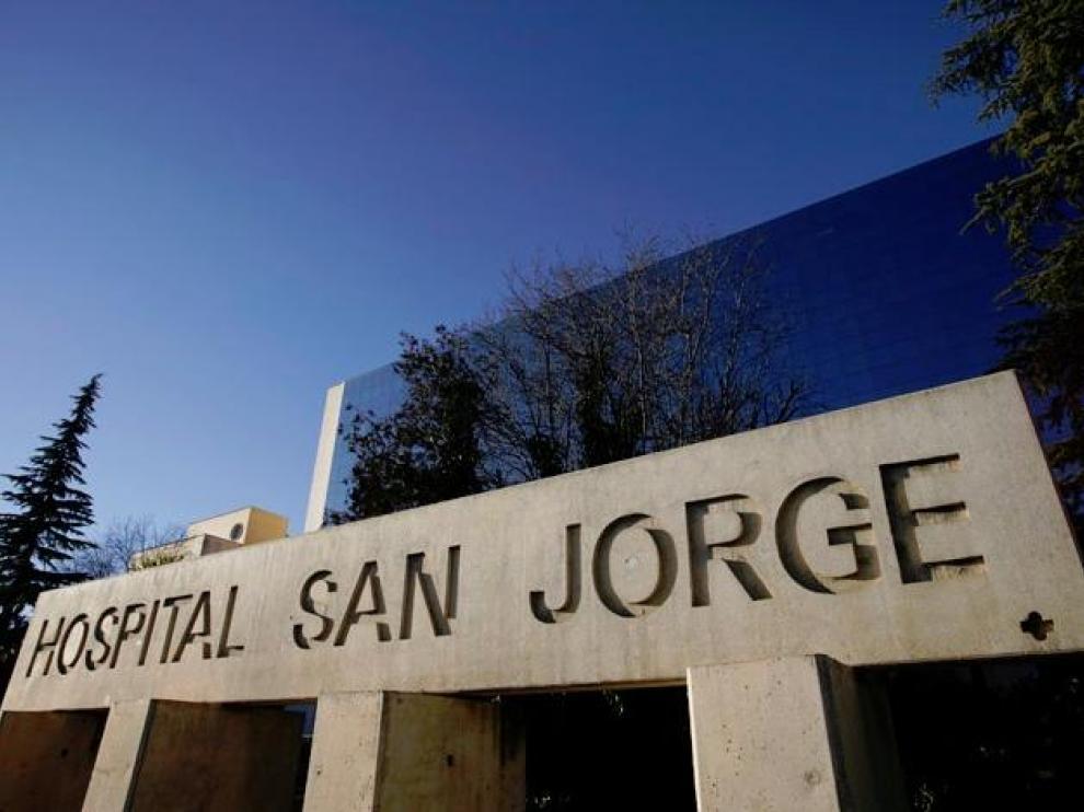 Exterior del Hospital San Jorge de Huesca.