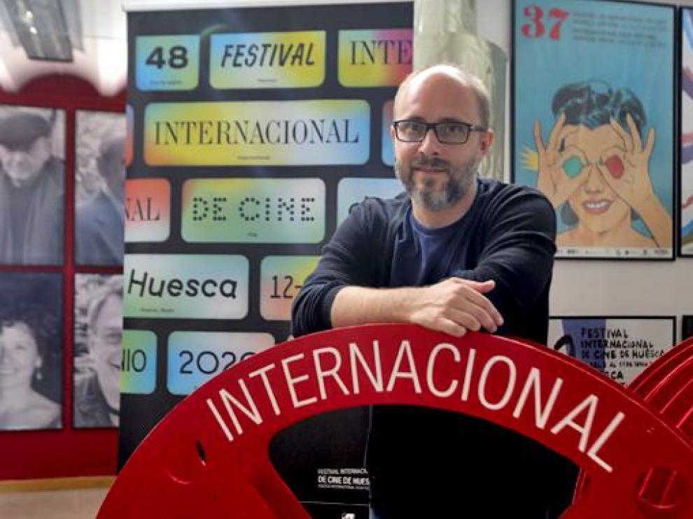 Rubén Moreno, Director del Festival Internacional de Cine de Huesca.