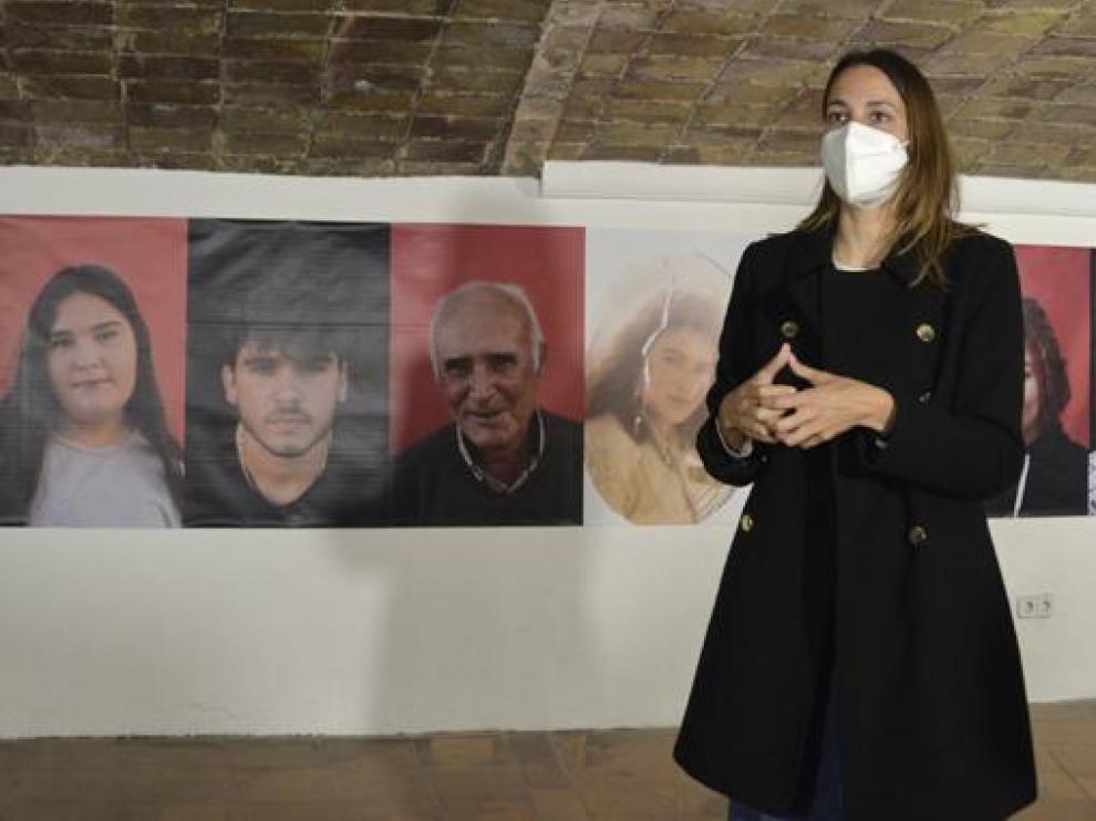 Tamara Pastora exhibe su exposición en El Moliné.