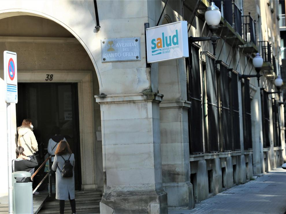 Centro de Salud de Santo Grial en Huesca