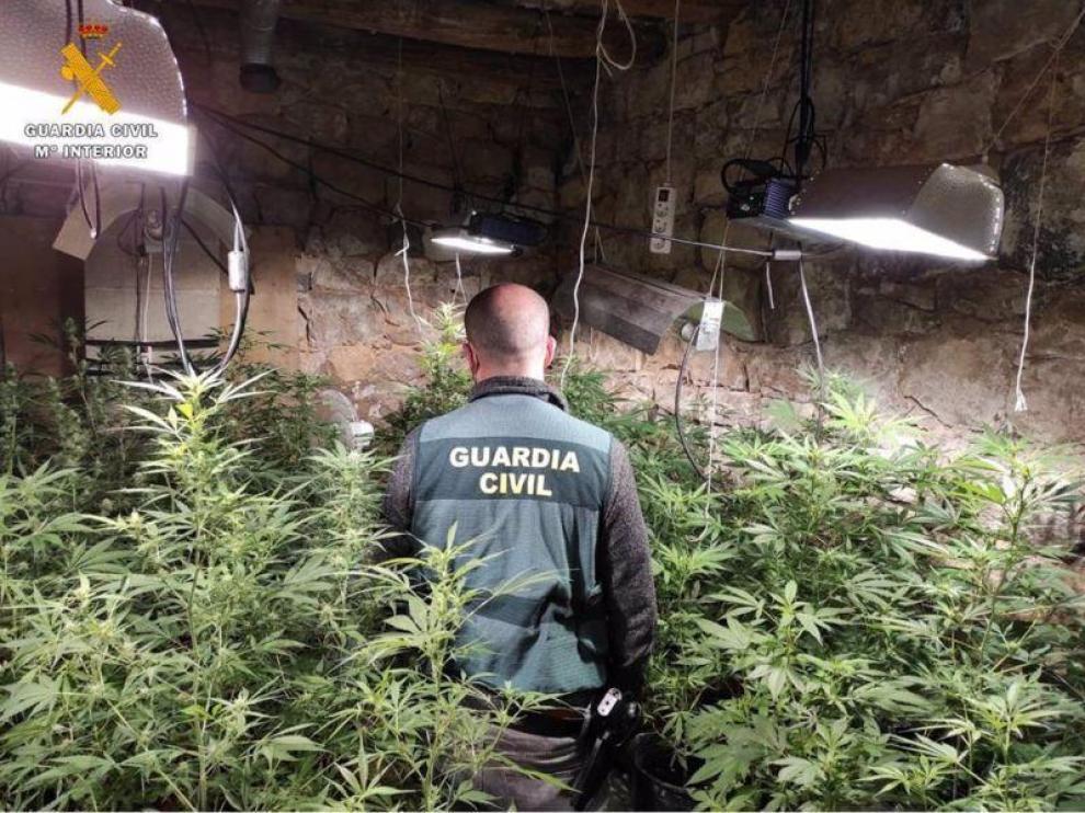 Imagen distribuida por la Guardia Civil