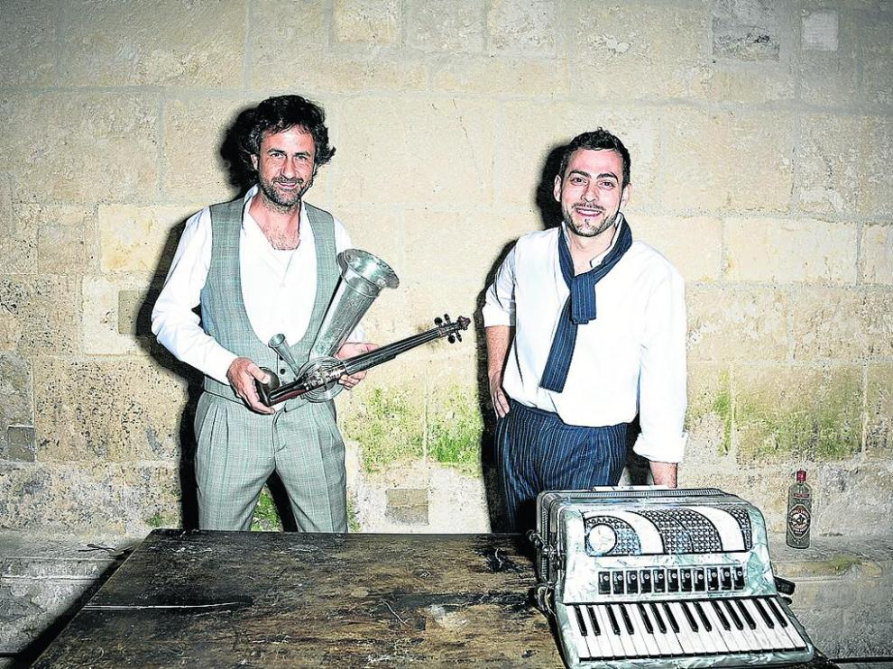 Diego Galaz y Jorge Arribas son Fetén Fetén.