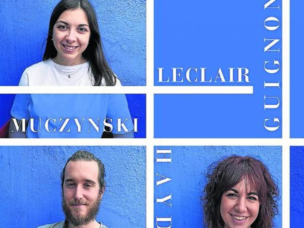 Paola Carcasona, Juan Zalba y Ana Torné actúan mañana en el Centro Cultural Manuel Benito Moliner de Huesca.