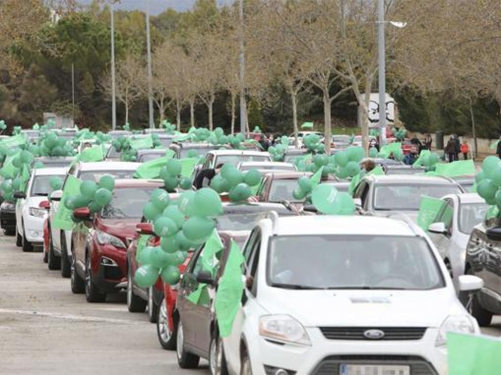 Manifestación de este domingo de 'Teruel existe'