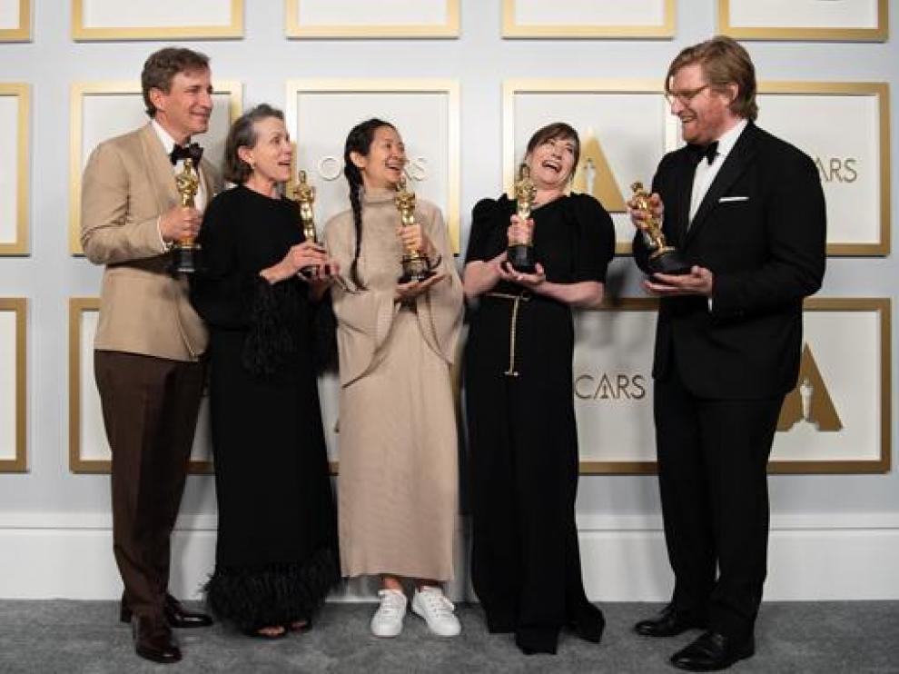 'Nomadland', ganadora indiscutible de los Oscar 2020