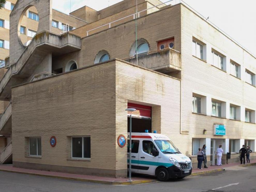Hospital San Jorge de Huesca.