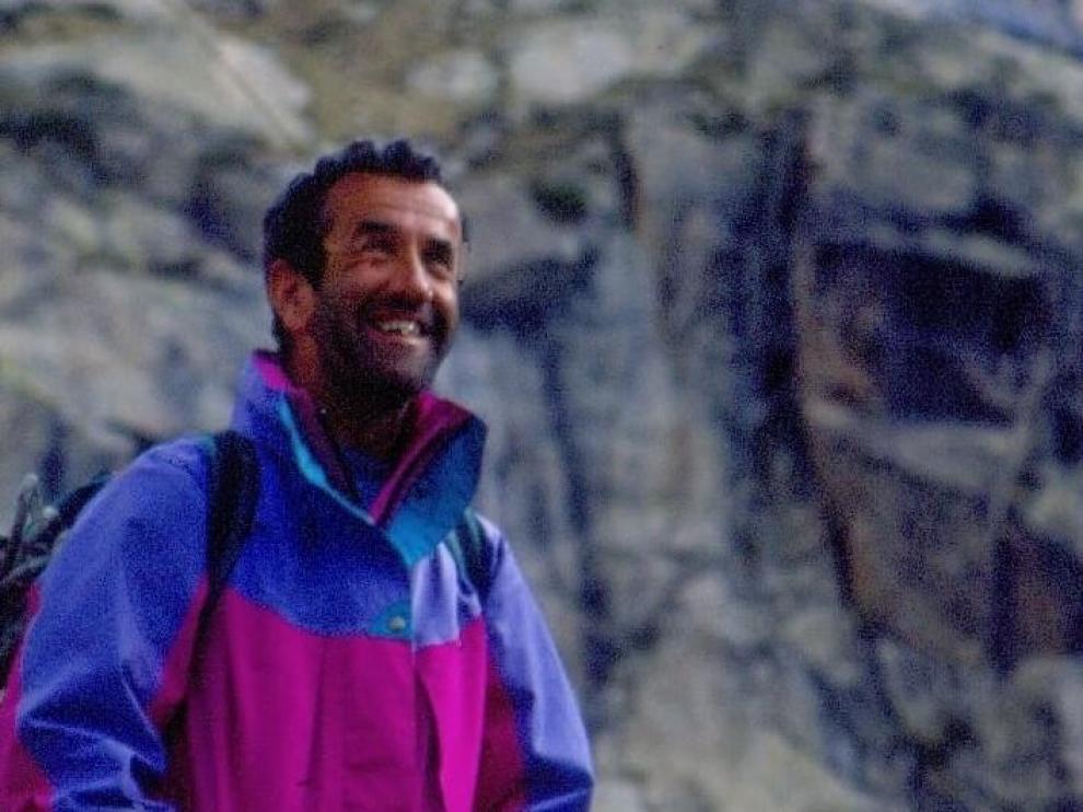 José Aranda, todo en emblema del montañismo en el valle de Benasque.