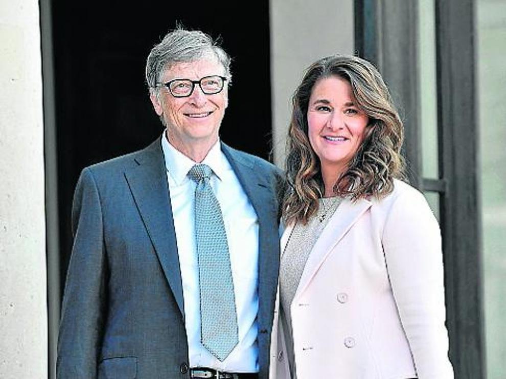 Bill y Melinda Gates, en una imagen de 2017