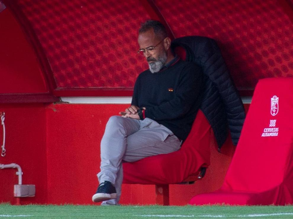 Alvaro Cervera, entrenador del Cádiz.
