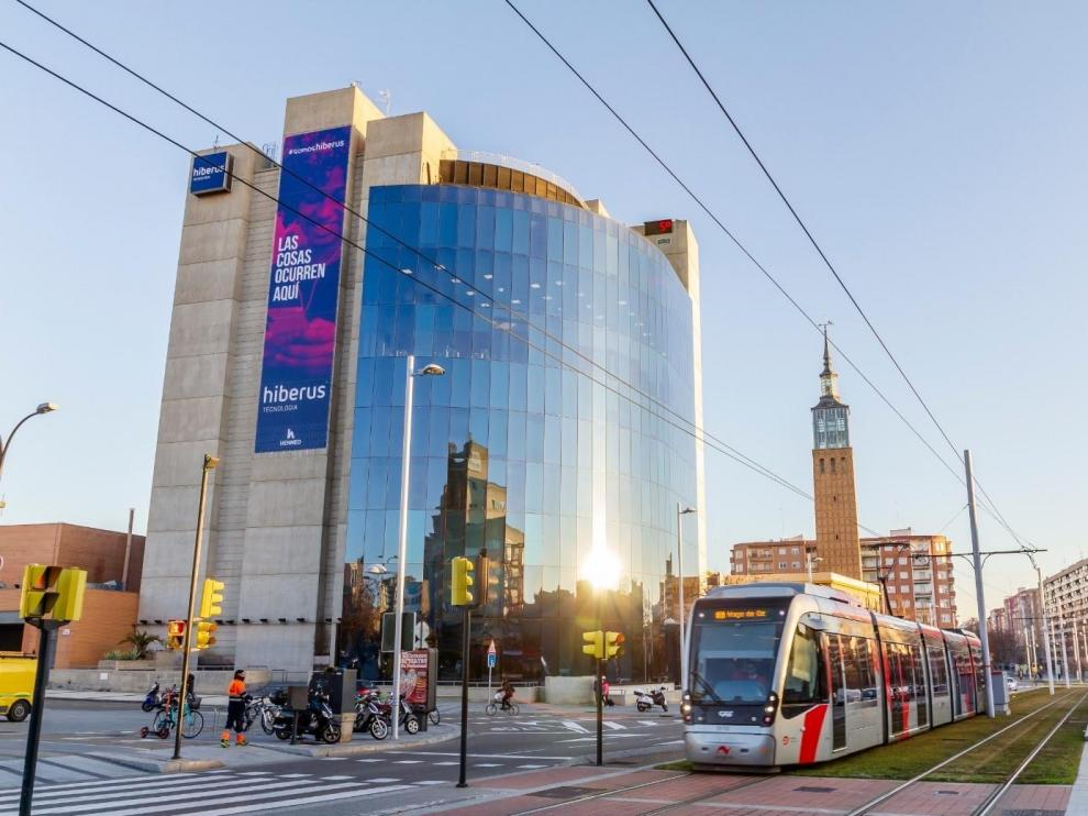 Sede de Hiberus en Zaragoza
