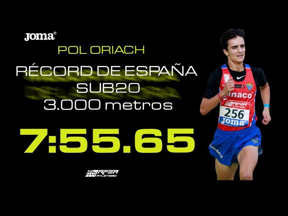 Así ha sido el récord logrado por Oriach.
