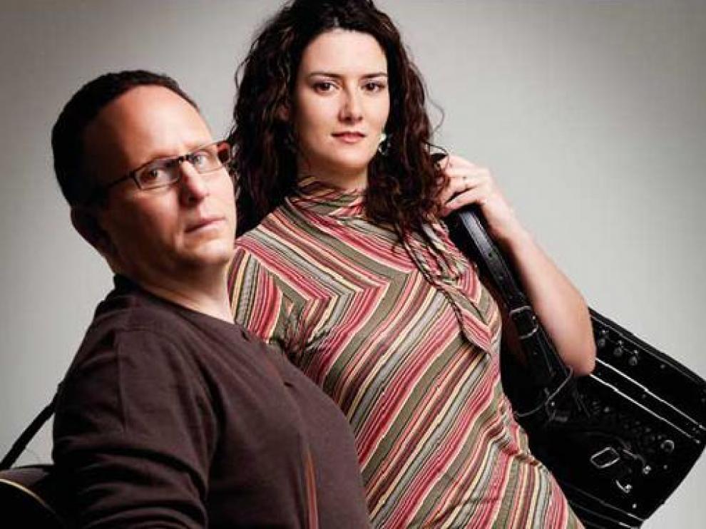Maraya Zideco y Michael Lee Wolfe