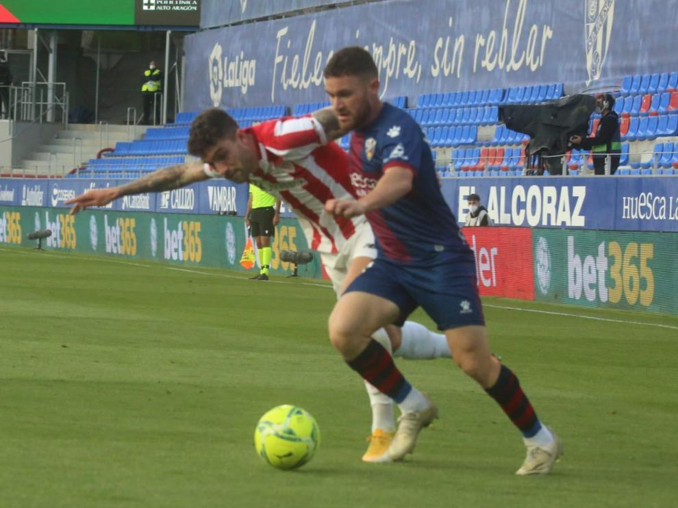 El Huesca se enfrenta al Athletic.