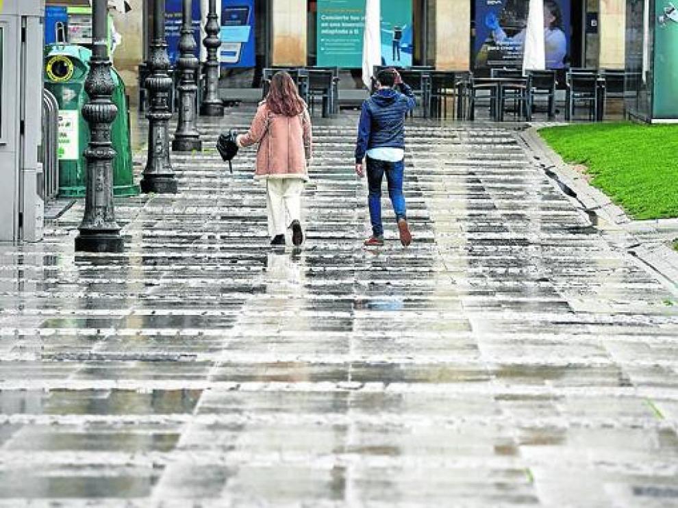 La ciudad de Pamplona el primer día sin toque de queda.
